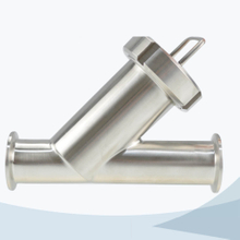 stainless steel sanitary clamped Y type filter