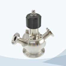 stainless steel food processing diaphragm sampling valve