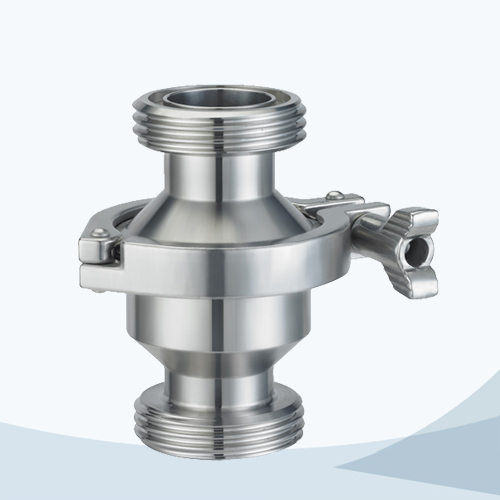 stainless steel food equipment double-union type NRV check valve