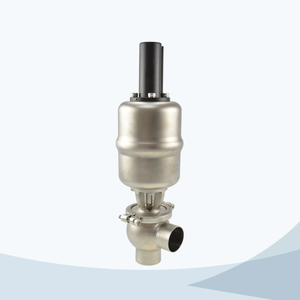 stainless steel food equipment pneumatic cut-off valve