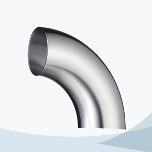 stainless steel food equipment butt weld 90D short elbow