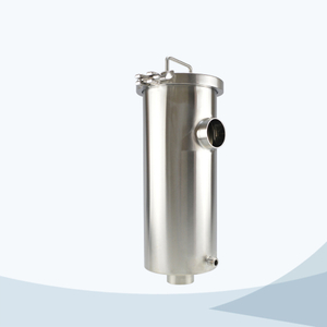 stainless steel food processing jacket type strainer