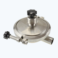 stainless steel food processing CPMO-2 PRESSURE MODULATING VALVE