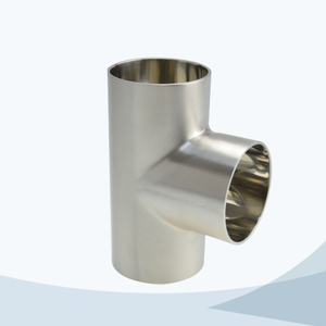 stainless steel hygienic grade 7W welded equal tee