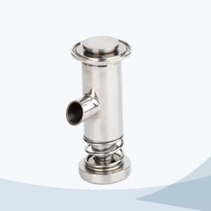 stainless steel hygienic yogurt sample valve