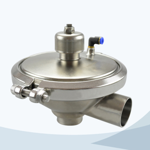 stainless steel hygienic grade constant pressure modulating CPM valve