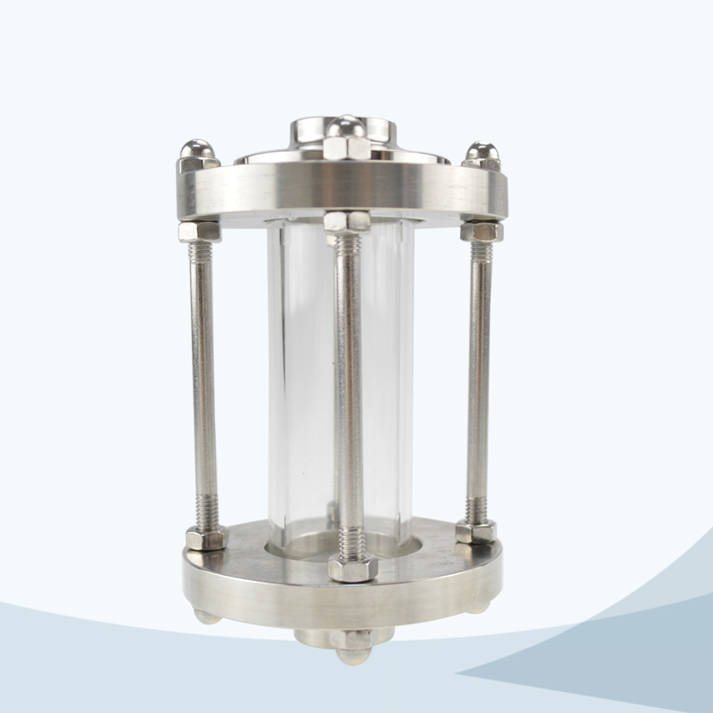 Sanitary tubular sight view glass