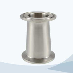 stainless steel food processing clamped concentric reducer