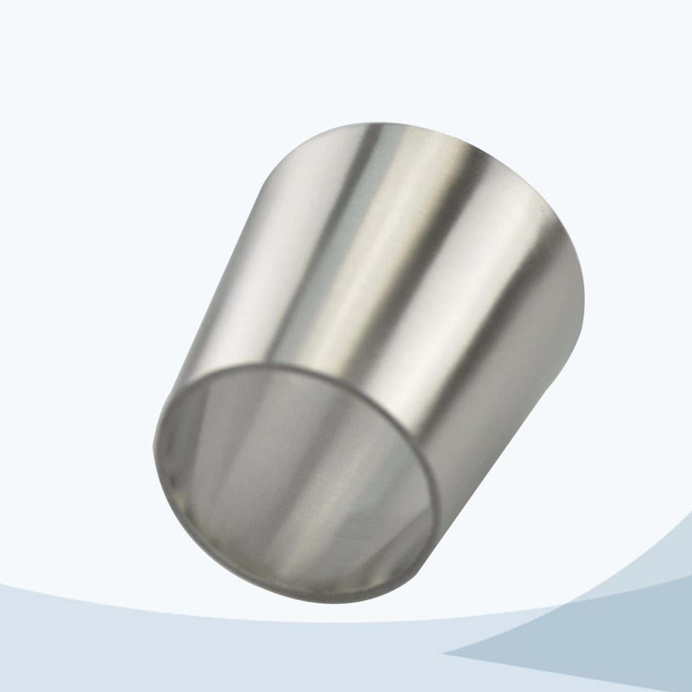 stainless steel food grade welded ecccentric reducer