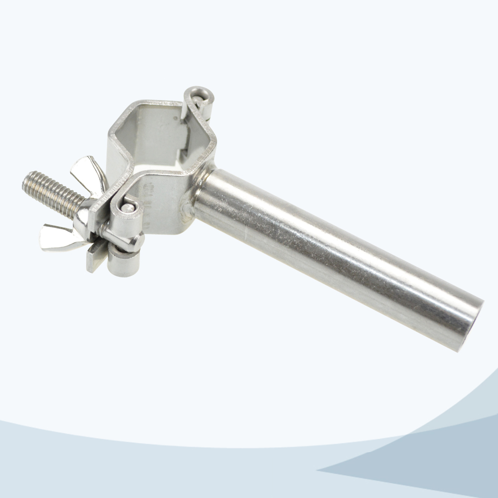 stainless steel food equipment TH3 hex pipe clamp