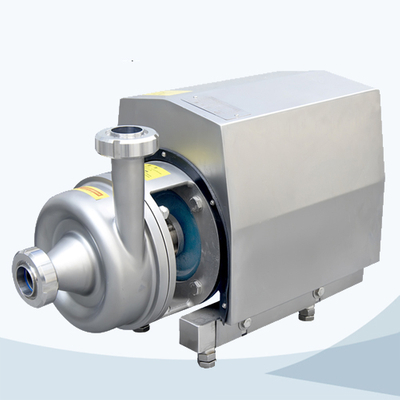 Sanitary square cover close impeller centrifugal pump