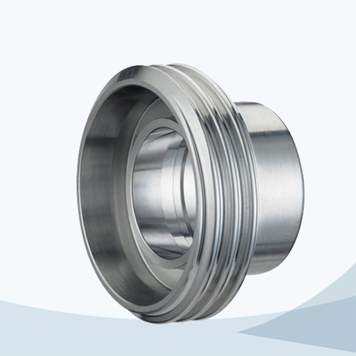 stainless steel hygienic grade union male part
