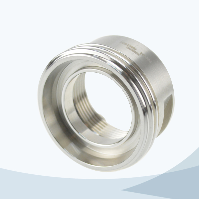 stainless steel food processing male adaptor