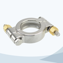 stainless steel food grade 13MPH heavy duty 13MHP high pressure clamp