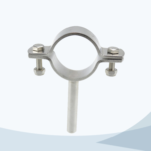 stainless steel food equipment TH5 round pipe clamp with rod
