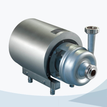 Sanitary round cover open impeller centrifugal pump