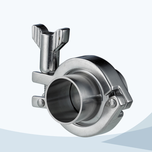 stainless steel hygienic grade complete triclover union