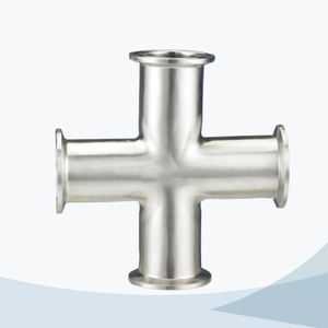 stainless steel food equipment clamped cross