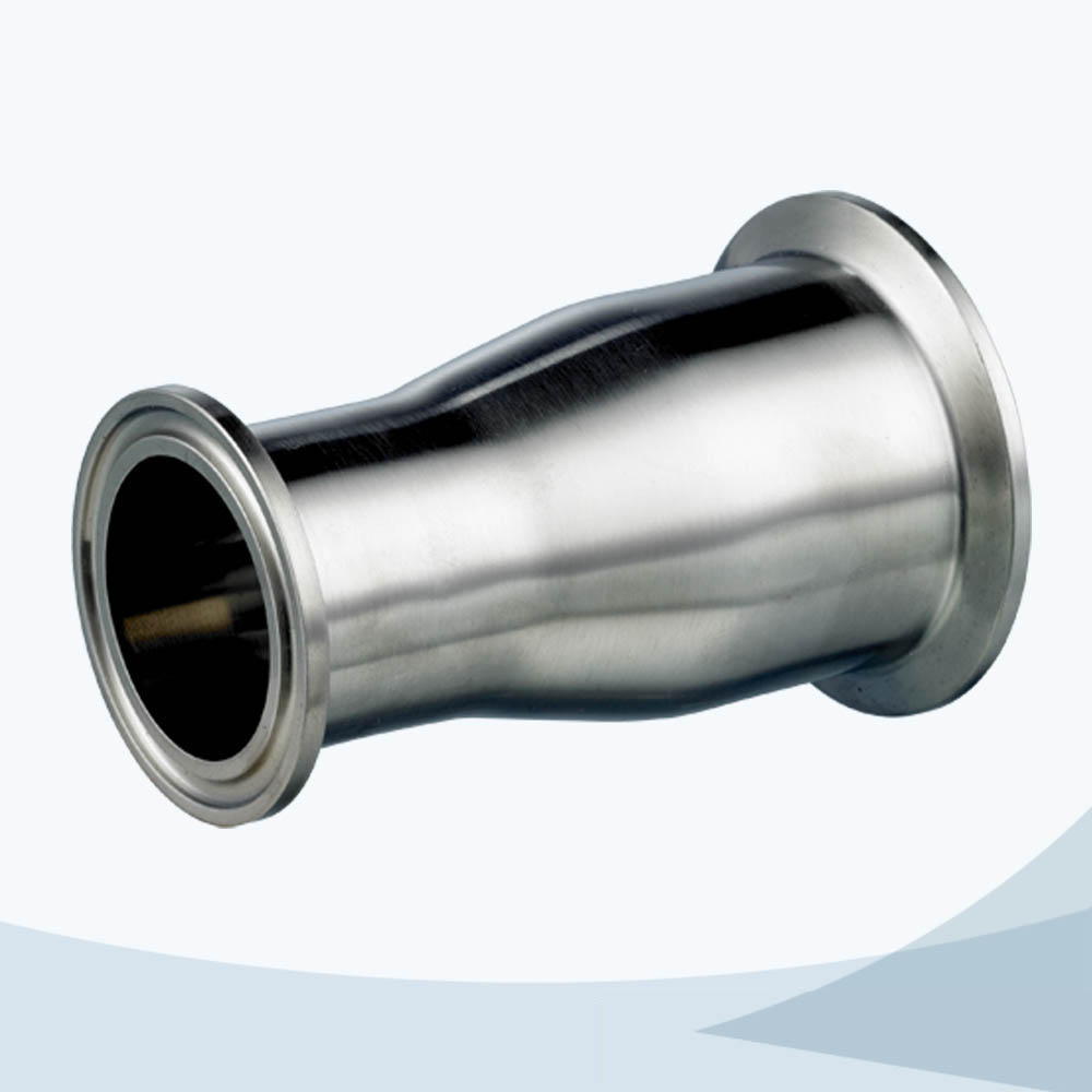 stainless steel sanitary grade 31-14MP clamped concentric reducer